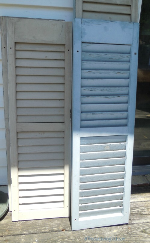 Cleaned up shutters