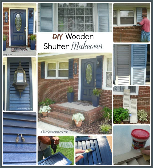 DIY Shutter Makeover Adds Instant Curb Appeal