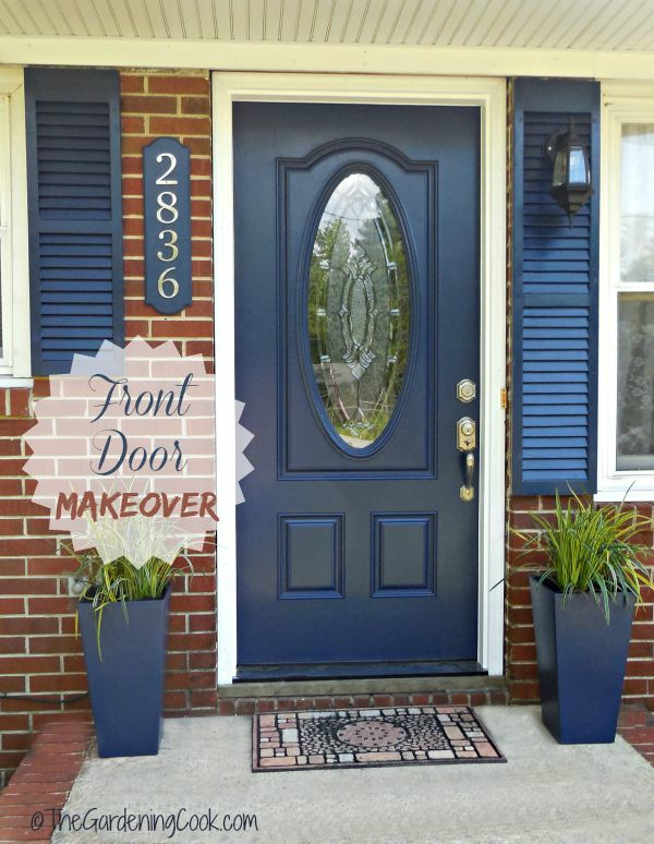 Tips For A Front Door Makeover Before And After The