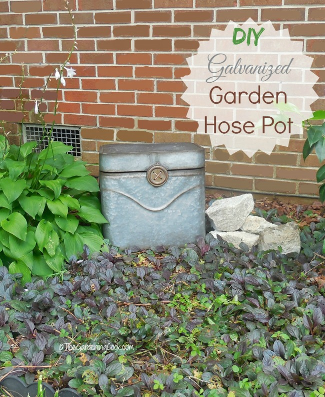 Lovely This DIY Hose Pot Keeps A Garden Hose Out Of Sight And Adds A Decorative  Touch