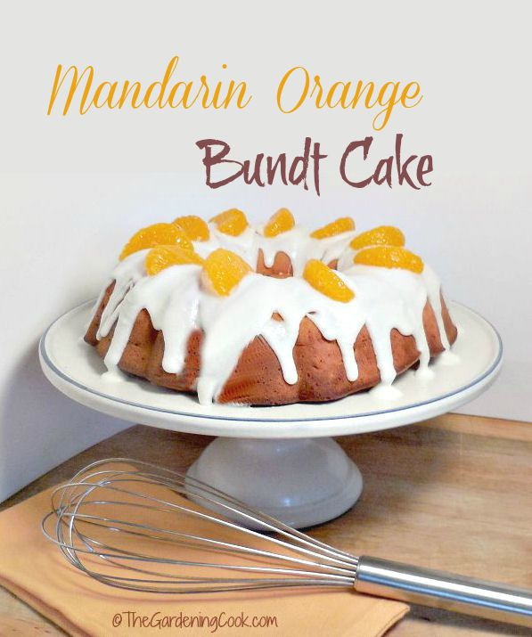 This Mandarin Orange Bundt cake is full of summer time freshness. So Yummy! DoleCannedFruit AD