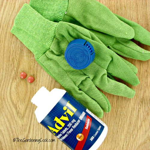 Advil is a must have tool in my tool belt for DIY projects that are hard on my hands