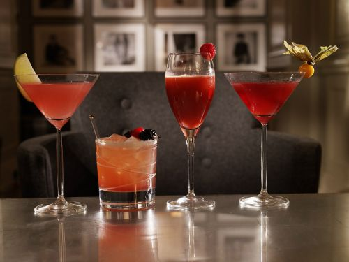 Many popular cocktails use a garnish of some type
