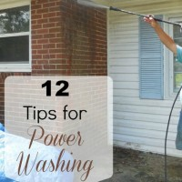 12 tips for power washing success
