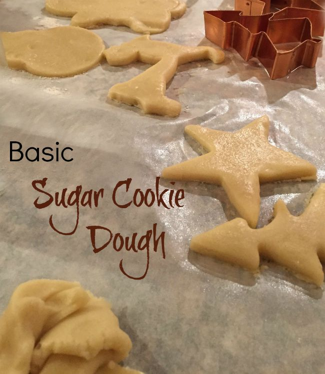 This basic sugar cookie dough keeps for 4 days in the fridge and freezes well too. Why buy slice and bake? Make your own?