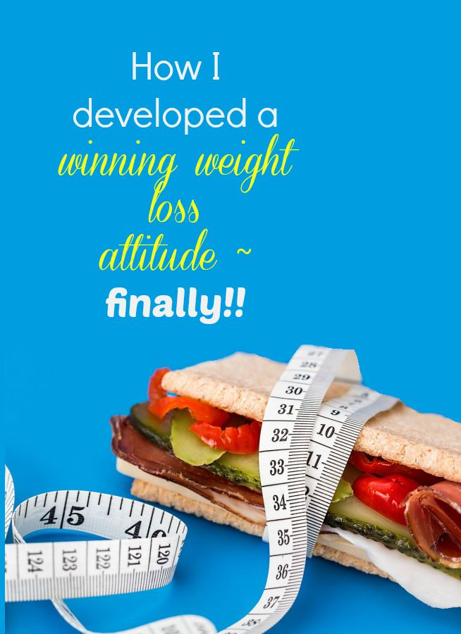Eating less and moving more are important, but a winning weight loss attitude is the key. See how I developed mine.