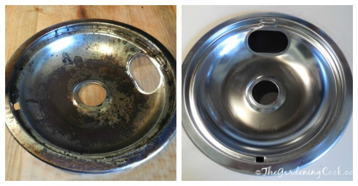 Drip Pan Cleaning With Just 3 Ingredients For Sparking