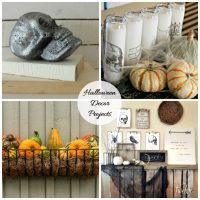 Halloween decor projects