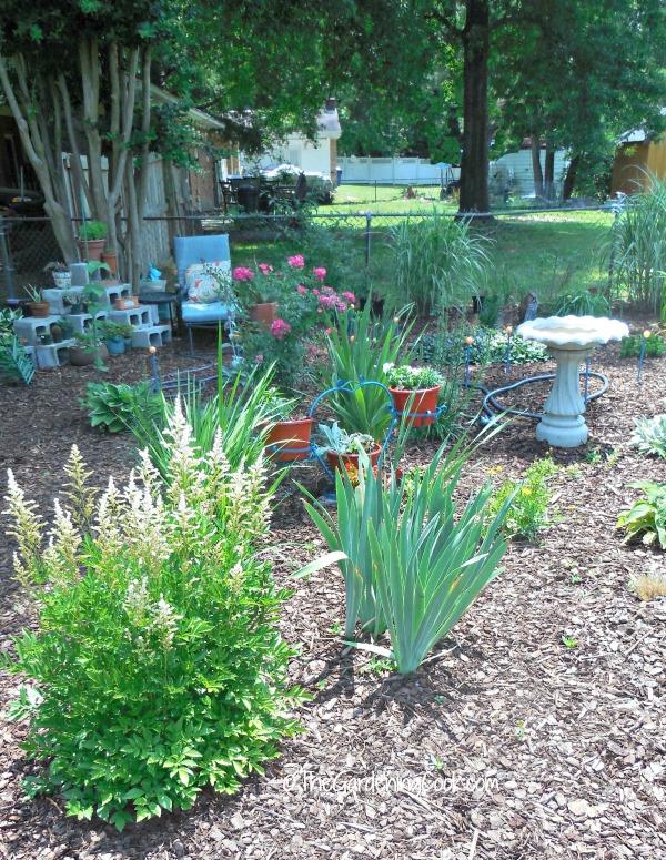 Southwest garden bed