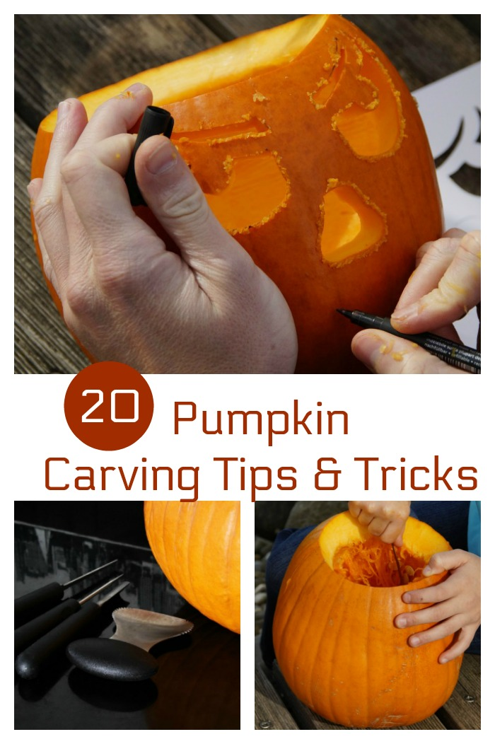 These pumpkin carving tips and tricks will give some inspiration for your Halloween decor.