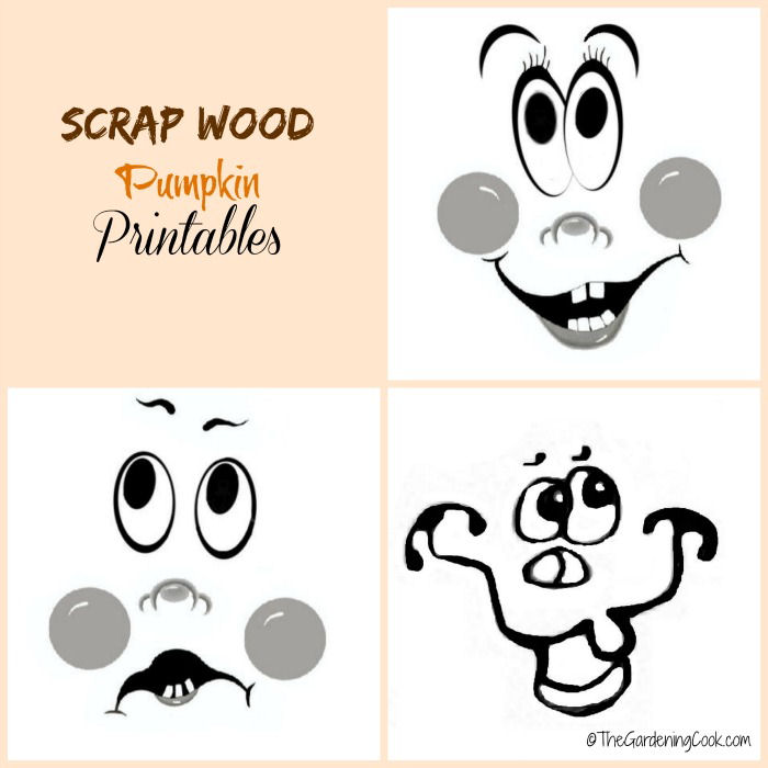 Pumpkin face printable