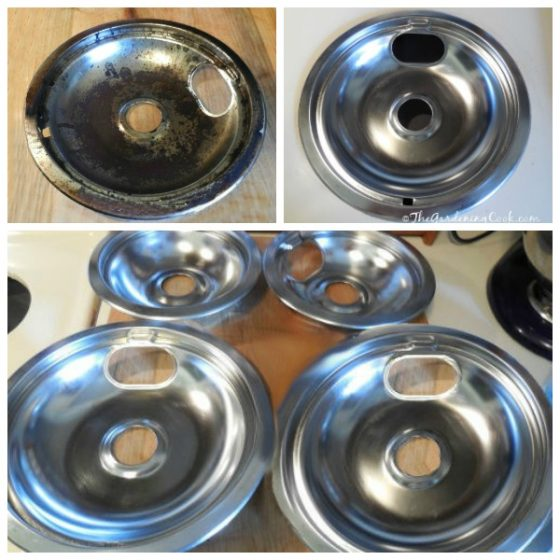 stove top burner cleaning