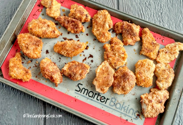 Copycat KFC chicken fresh from the oven