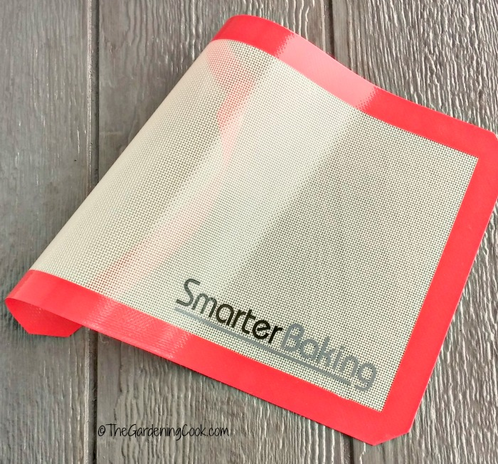 A silicone baking mat from Smarter baking makes this copycat KFC chicken recipe so easy to make