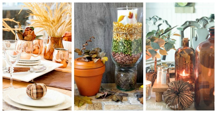 Thanksgiving Tablescapes - DIY Easy Thanksgiving Table Ideas
