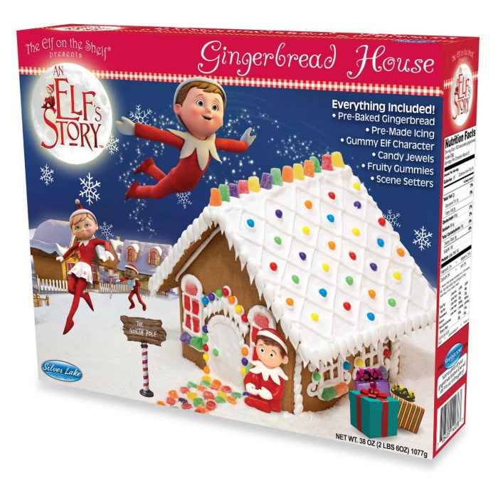 Elf on a shelf Gingerbread house