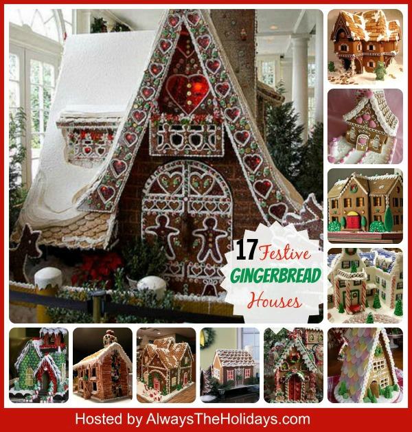 17 inspiring Gingerbread houses alwaystheholidays.com