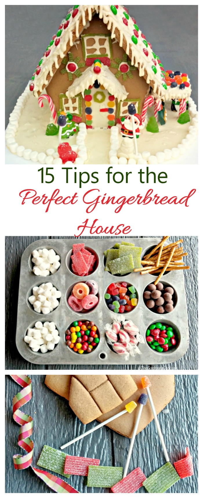Follow these tips for making the perfect gingerbread house to make your Christmas creation a work of art this year. #gingerbreadhousese #perfectgingerbreadhouse