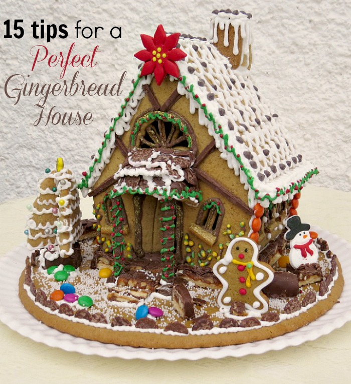a tiny gingerbread house that perches on the edge of your mug