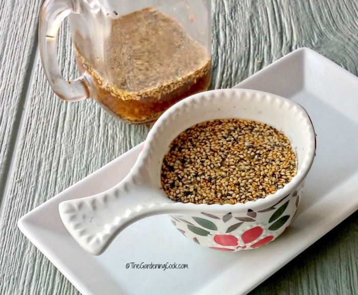 Toasted sesame seed dressing