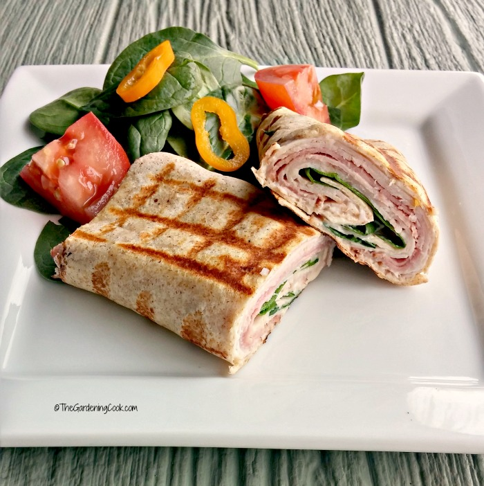 Turkey Cordon Bleu Wraps