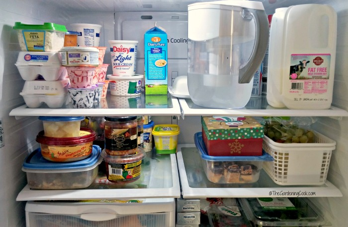 This is the time of the year to give the fridge a good cleaning.