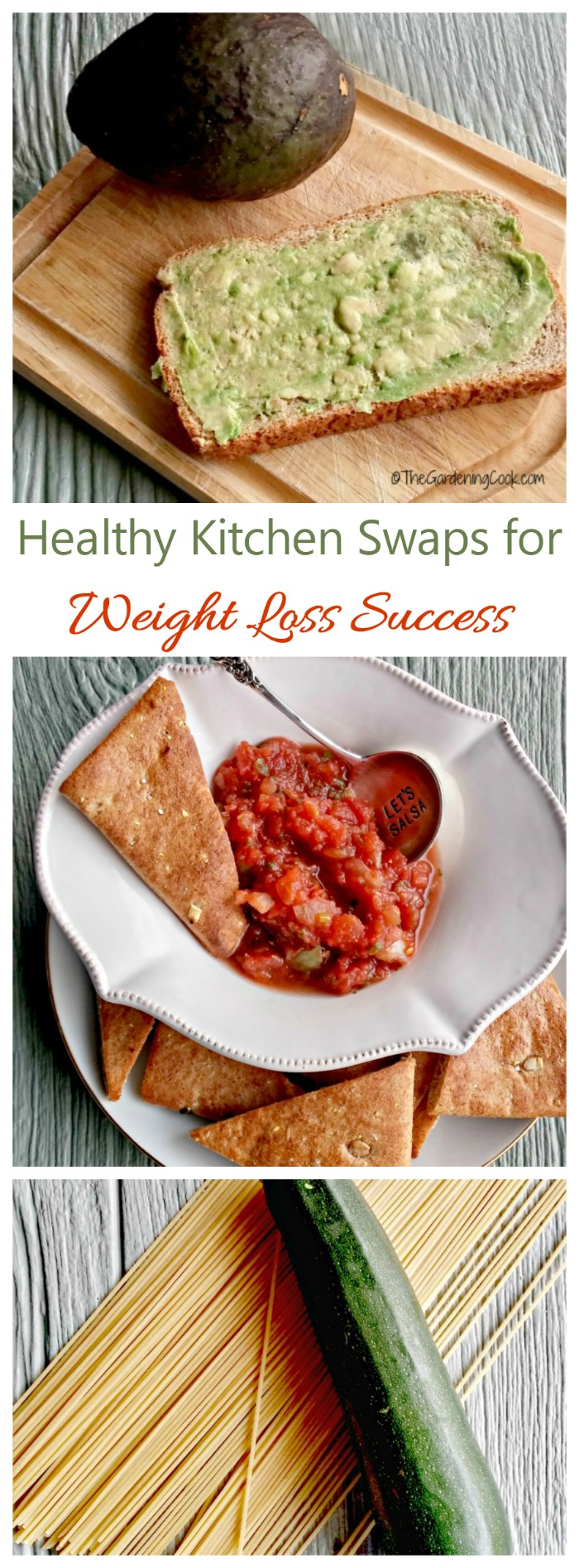 Healthy Kitchen Swaps for long term weight loss success #foodswaps #losingweight