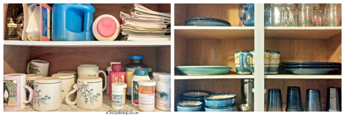 Minimize your upper cupboards.
