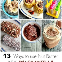 13 Ways to use Nut Butter - AKA Paleo Nutella - thegardeningcook.com