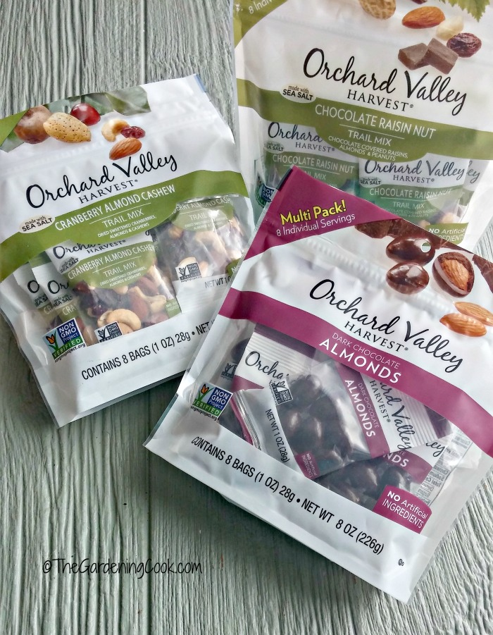 Orchard Valley Harvest Snacks are portion controlled for healthy eating.