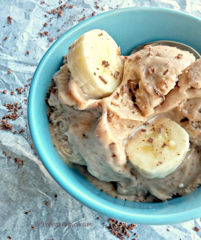 Paleo Nutella Banana Ice Cream