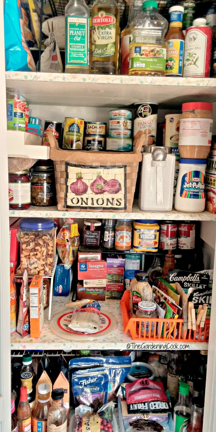 Pantry organization tips