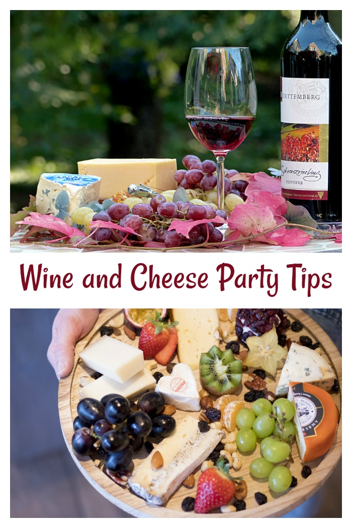 Check out these tips for hosting a fabulous wine and cheese party.