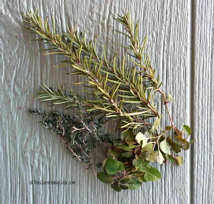 fresh herbs add flavor