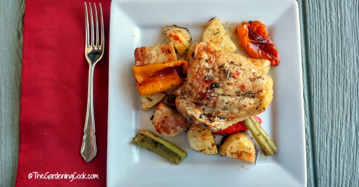 One pan roast chicken