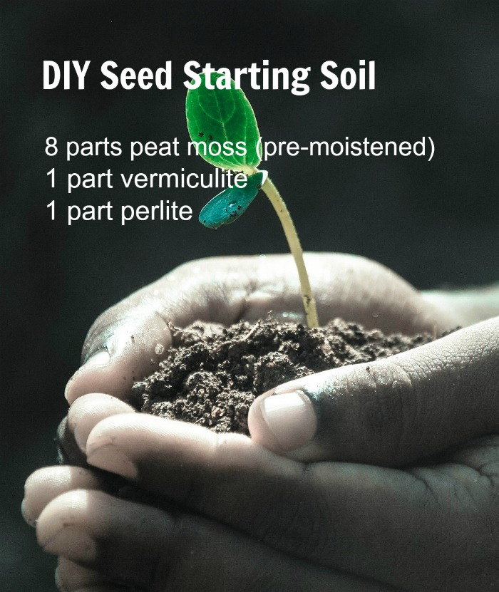 Do it yourself seed starting mixture