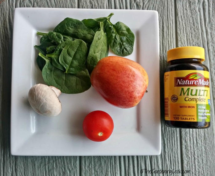 A daily multiple vitamin adds back what diet lacks.