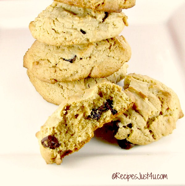 Home made chocolate chip cookies
