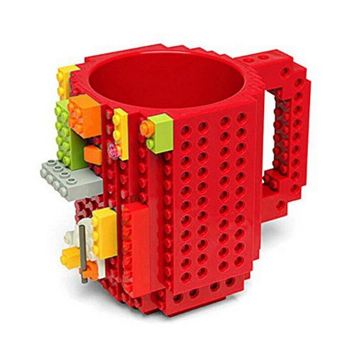 Build a brick mug