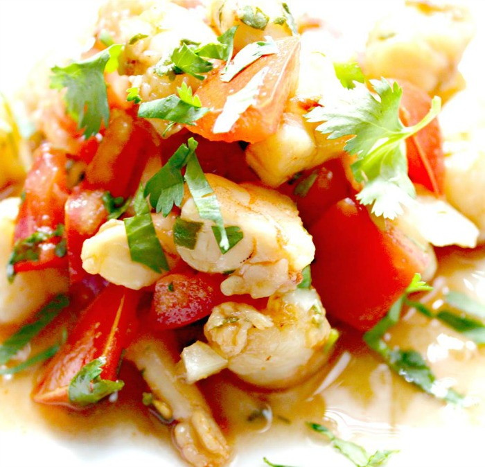 Ceviche Veracruz is our second appetizer for the Cinco de Mayo progressive dinner party. newhousenewhomenewlife.com
