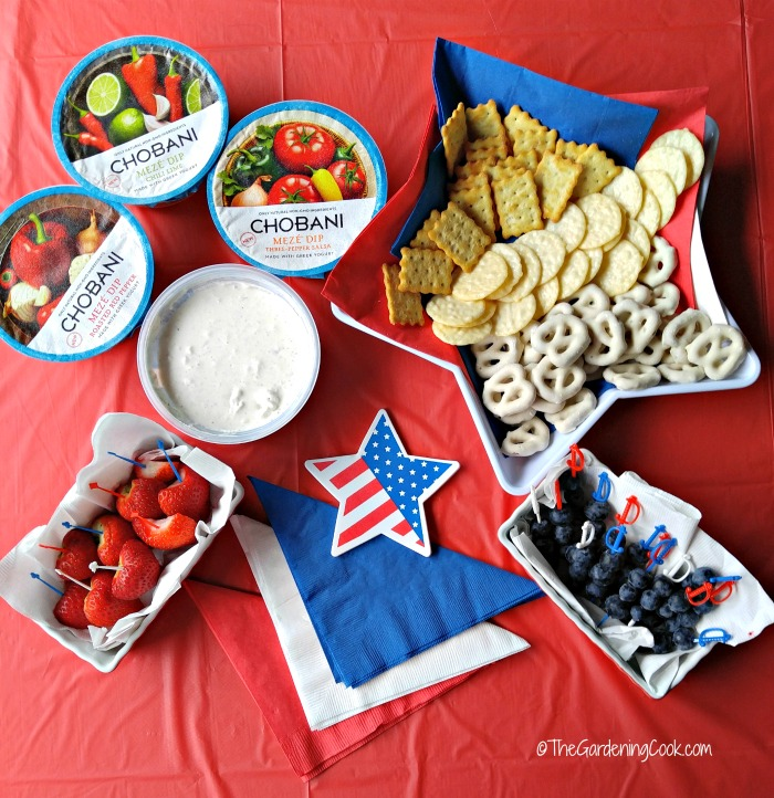 Chobani Meze Dipping Station
