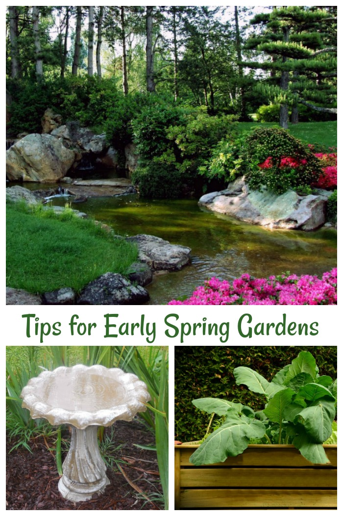 These early spring garden tips will make sure that your garden gets off to a good start this year.