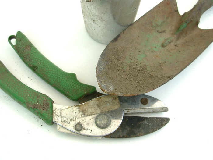 Check garden tools in spring