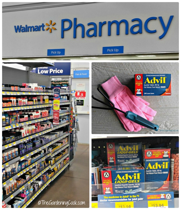 Advil EZ Open packaging is perfect for those who suffer from arthritis. No need to stop your gardening chores.