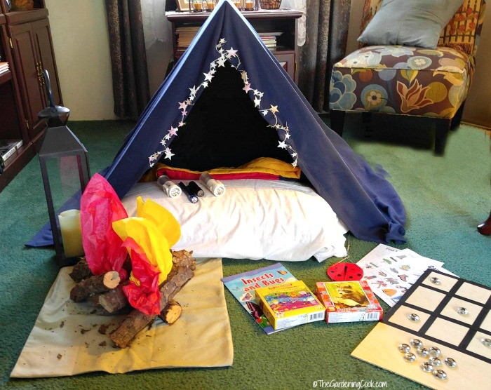 Indoor Camping Party - Tips and Activitites for Cooped up Kids ...