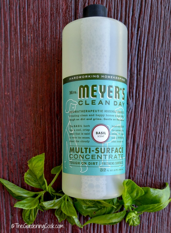 Mrs Meyers All purpose basil cleaner