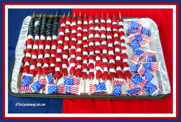 Patriotic Fruit Flag