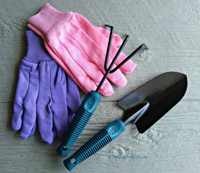 Garden tools with rubberized grips are helpful if you have arthritis