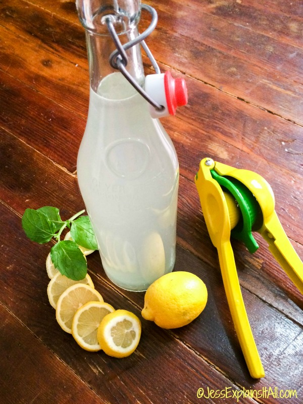 Super easy home made lemonade
