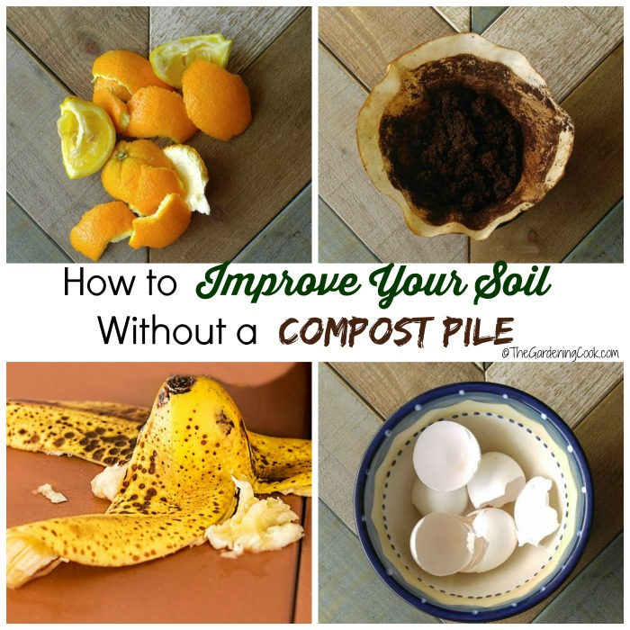 Trench Composting With Kitchen Scraps